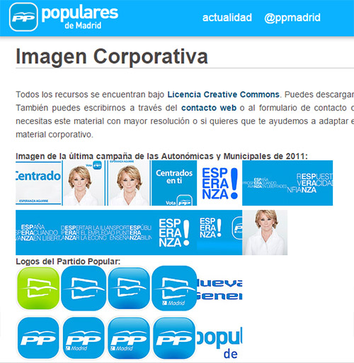 identidad visual PP3