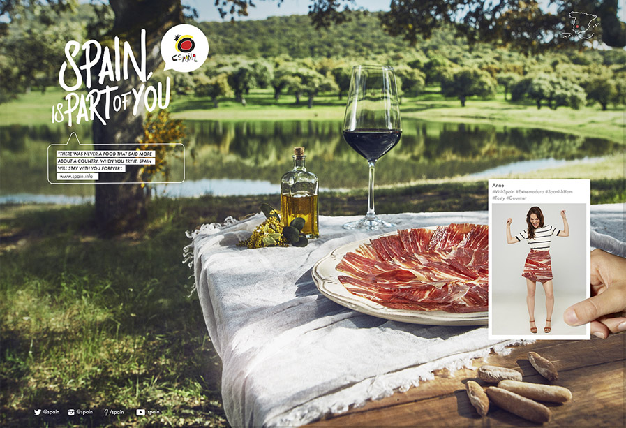 Spain is part of you jamon