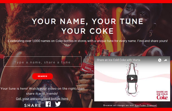 cocacola jingle nombres