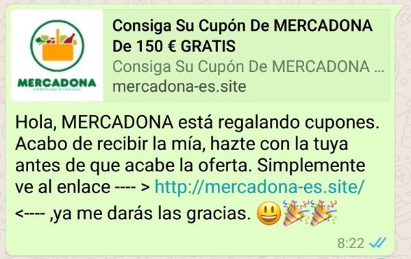 mercadona cupon