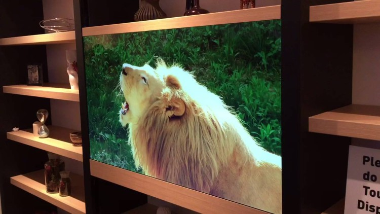 panasonic tv invisible