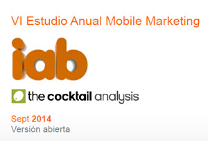 VI estudio Iab mobile marketing