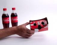 Coca Cola lanza un envoltorio de cartón para convertir tu móvil en un visor de Realidad Virtual