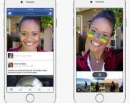 Facebook prueba una función para personalizar fotografías como en Snapchat