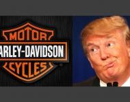 Harley Davidson cancela la visita de Trump a su sede central