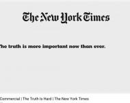 El spot de The New York Times emitido durante la gala de los Oscar aviva la guerra de Trump con los medios