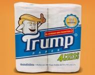 Los mexicanos podrán limpiarse el trasero con Trump a final de año