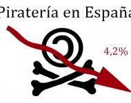 Desciende la piratería en España por primera vez en 10 años