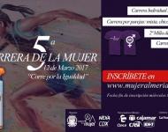 Acusan de machistas los regalos patrocinados en la Carrera de la Mujer de Almería