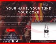 Coca-Cola crea 1000 jingles con los nombres de las personas de sus latas para este verano