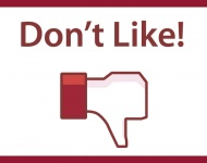 """Facebook prueba un botón de """"no me gusta"""" para  Messenger"""