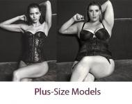 Mujeres talla XL sustituyen a célebres top models en gráficas publicitarias