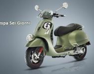 Vespa lanza una edición limitada de su modelo vintage Sei Giorni de los años 50