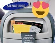 Samsung regala 200 Galaxy Note 8 a los pasajeros de un vuelo de Iberia