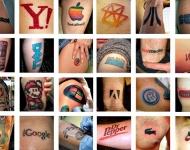 Tatuajes publicitarios: a las marcas les gusta anunciarse en la piel