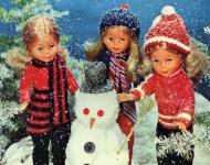 Famosa cambia sus muñecas por adolescentes en su nueva campaña de Navidad