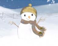 Sammy, el muñeco de nieve, no quiere derretirse en Navidad