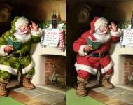 ¿Por qué Papá Noel es rechoncho y viste de rojo?