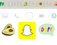 Snapchat copia a Instagram añadiendo stickers animados
