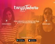 Twyp reta a cuatro youtubers a sobrevivir sin dinero en efectivo en un festival de música