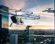 El taxi aéreo Volocopter vuela por primera vez en EEUU