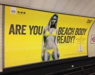 Londres prohíbe los anuncios con cuerpos ficticios o imposibles en los transportes públicos