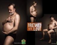Estos hombres embarazados sienten verdadero amor por la cerveza