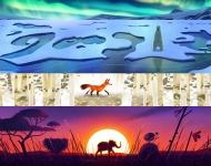 Google celebra el Día de la Tierra con bellos doodles de animales salvajes