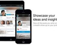 Linkedin optimiza los perfiles móviles con un aspecto más atractivo y profesional