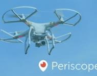 La nueva actualización de Periscope permite ver y editar vídeo en streaming desde un dron